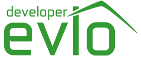Logo developer Evio